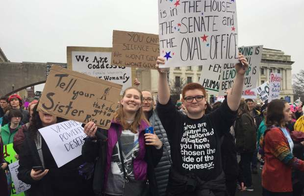 K students participate in D.C. rally [Ayla Hull / The Index].