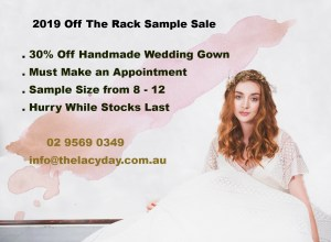 The Lacy Day Wedding Dress Off The Rack Sale