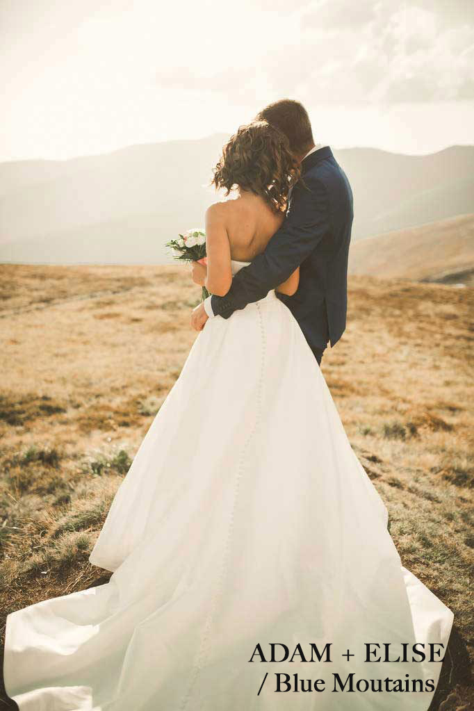 Blue Mountain Wedding photo