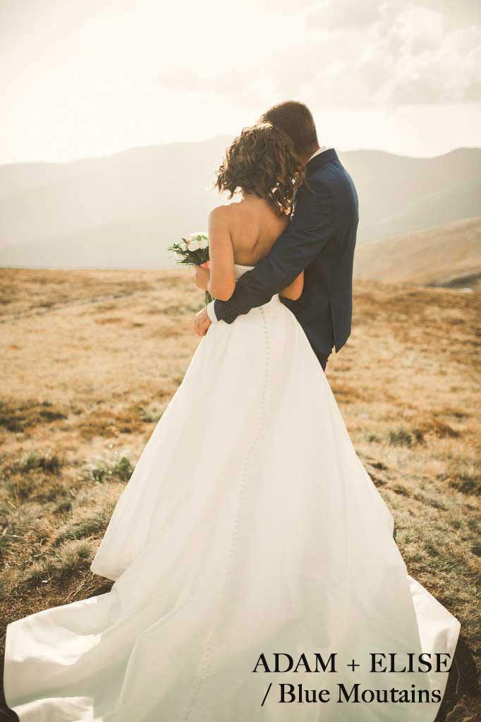 Blue Mountain Wedding photo