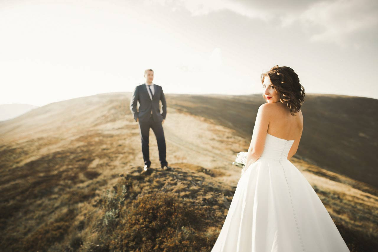 Blue Mountain Elopement Photoshoot