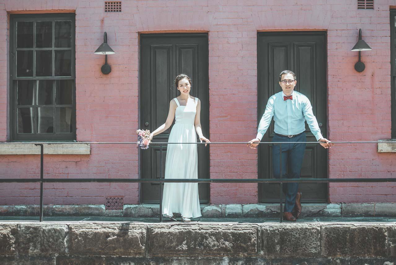 The Rocks Pre-wedding Photoshoot