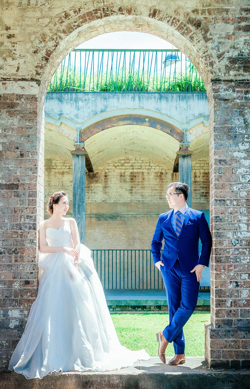 paddington reservoir pre-wedding