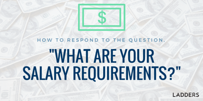 include salary requirements in cover letter