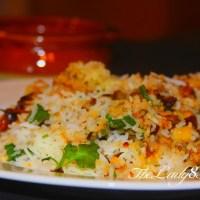 Hyderabadi Vegetable Dum Biriyani