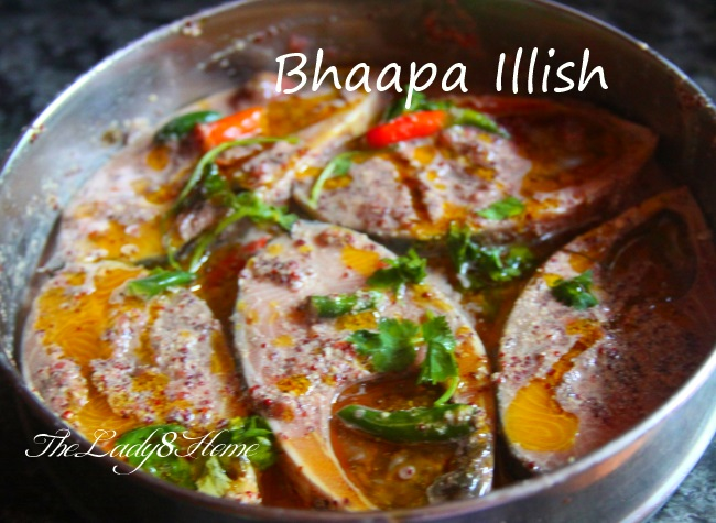 Bhapa Illish Steamed Hilsa Fish In Mustard Sauce Made From Scratch The Lady 8 Home