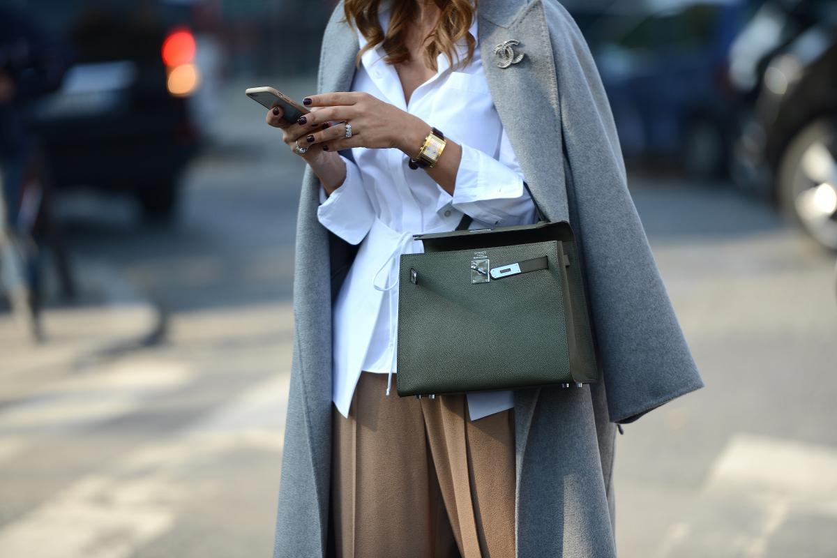 Hermès Bags - The Lady-like Leopard - Photo via The Street Muse