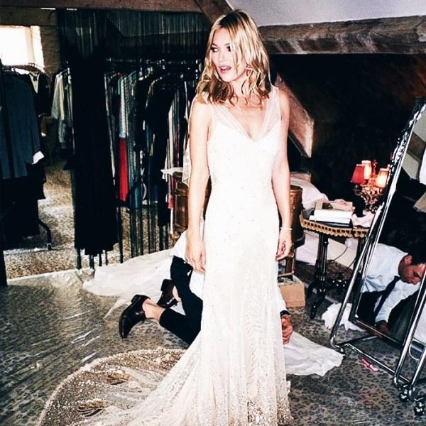 Kate Moss Celebrity Weddings | The Lady-like Leopard