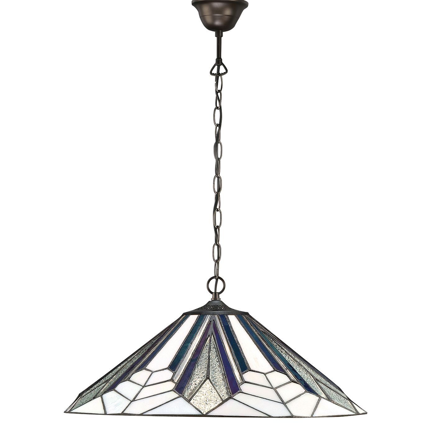 Tiffany Astoria Large 1 Light Ceiling Pendant Light