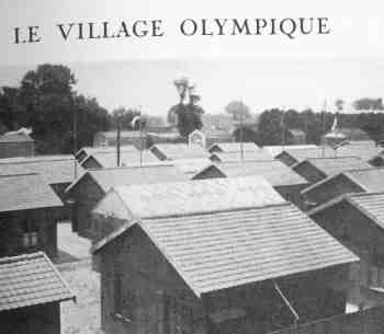 The original Olympic Village at the 1924 Olympics