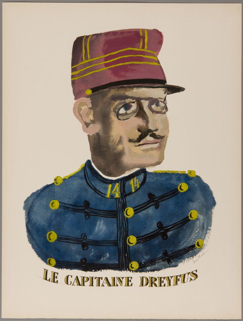 Alfred Dreyfus, Ben Shahn, 1984.