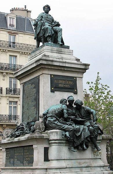 Memorial, Alexandre Dumas pere