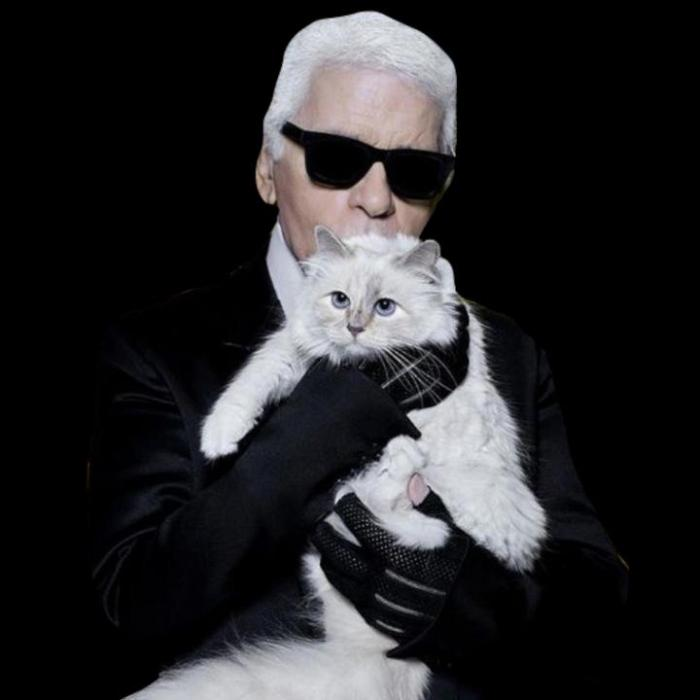Choupette and Karl