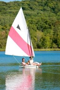 IMG_0212 Skyler the St. Bernard, Kevin Jackson, Glen Arbor, MI, Sailing