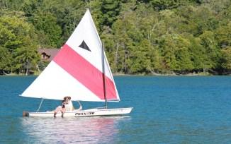 IMG_0215 Skyler the St. Bernard, Kevin Jackson, Glen Arbor, MI, Sailing