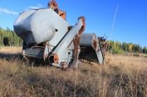IMG_1904 antique rusty farm equipment, Polebridge Montana