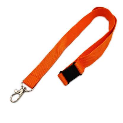 20mm Lanyard with Safety Breakaway & Trigger Clip (Orange)