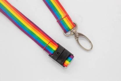 Rainbow / LGBT 15mm Lanyard