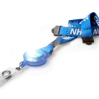 15mm NHS Lanyards with Badge Reel