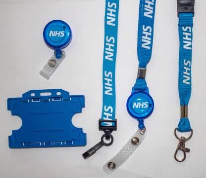 NHS Lanyard & ID Holder Bundle