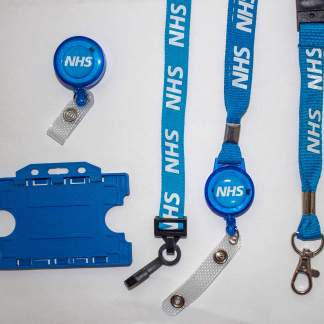 NHS Lanyard & ID Holder Bundle