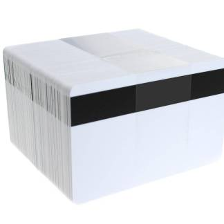 Blank White Magnetic Stripe ID Cards (Hi-Co 2750 oe)