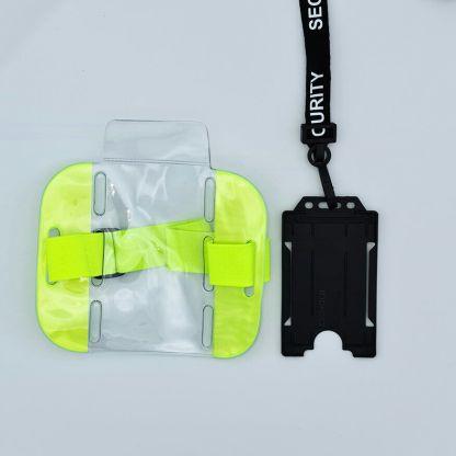 Security Lanyard & ID Bundle - Single Sided Portrait