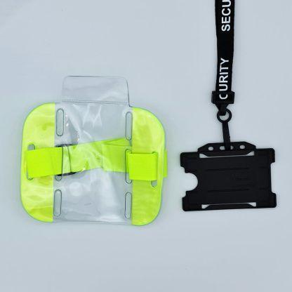 Security Lanyard & ID Bundle - Single Sided