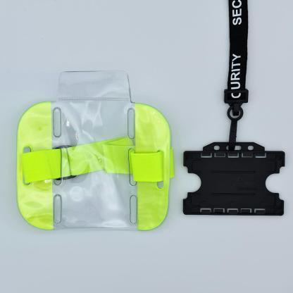 Security Lanyard & ID Bundle - Double Sided