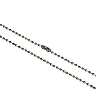 2mm Steel Ball Chain for ID / Badge Holder / Dog Tags