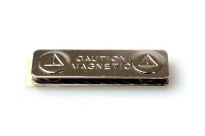 Magnetic Name Badge ID Holders – Self Adhesive