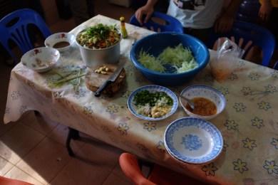 Lao food preparation