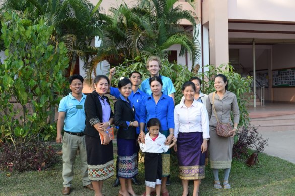 The English teachers of the thre schools supported by AfC