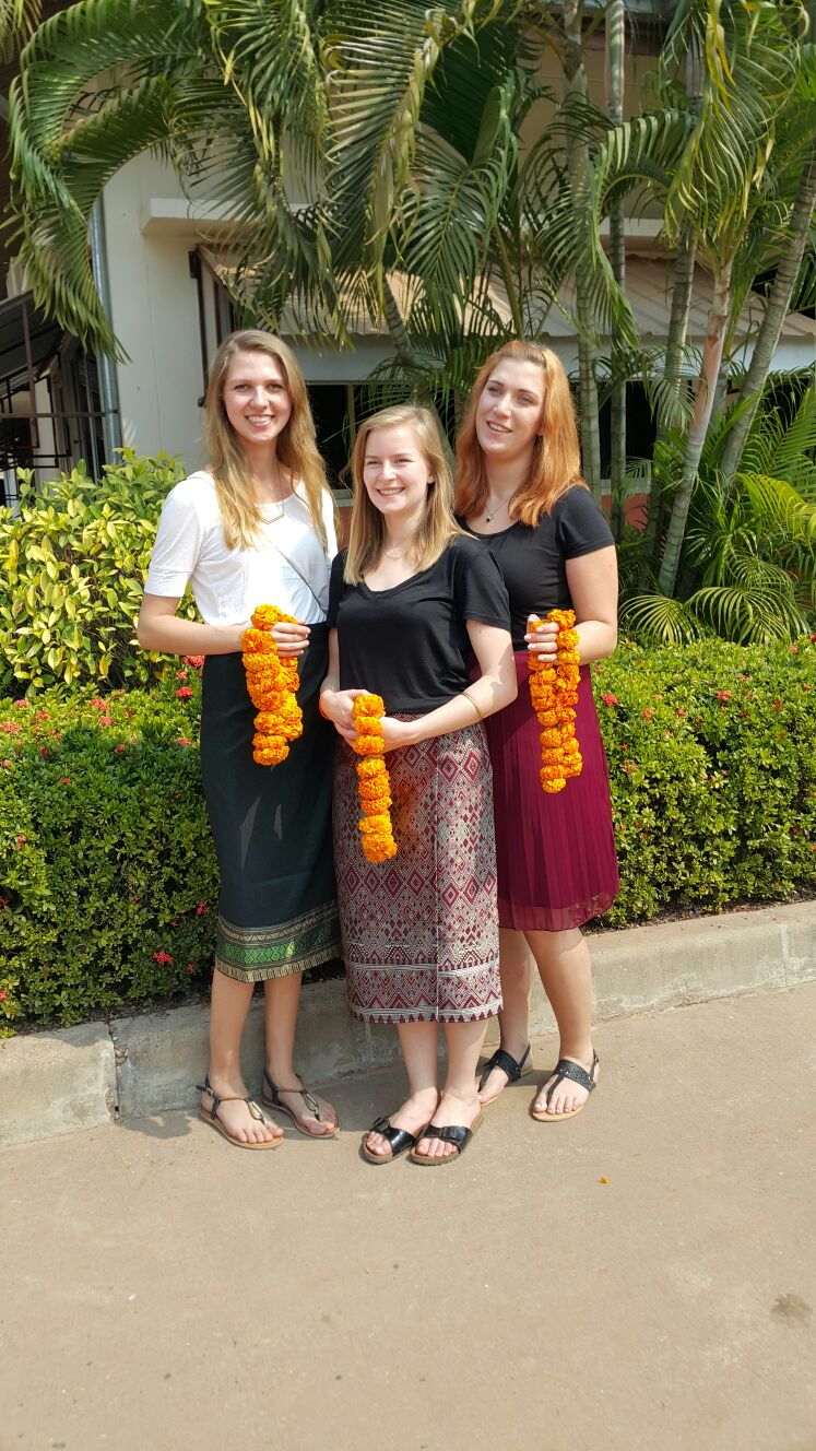 from left to right: Jana Brecht, Isabella Stry, Jule Reissig