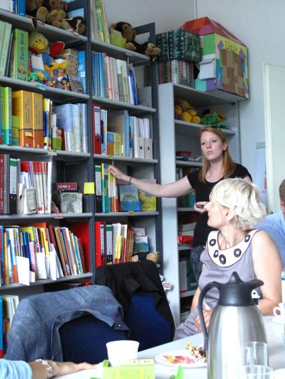 Marlene Findeisen presents the Lending Library