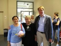 Linda, Gerlinde Engel and her nephew Daniel Wensauer-Sieber