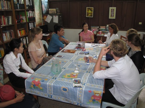 Informal talk with the German department at the NUOL