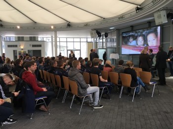 """More than 150 guests in the BHS """"Innovision Centre"""""""