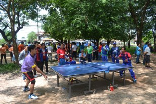 Mens' table tennis competition