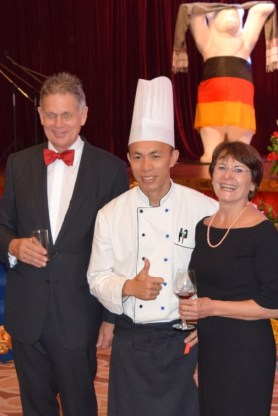 ... and with the Chef!