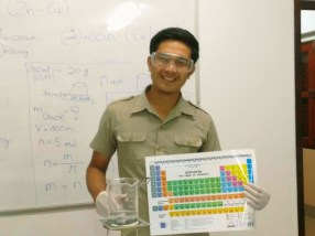 Sackbong Boulapan - chemistry teacher