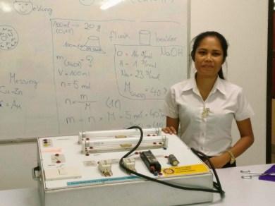 Chanmany Thippachan - physics teacher