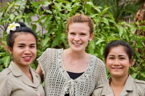 Teachers of English: Two Lao and one German