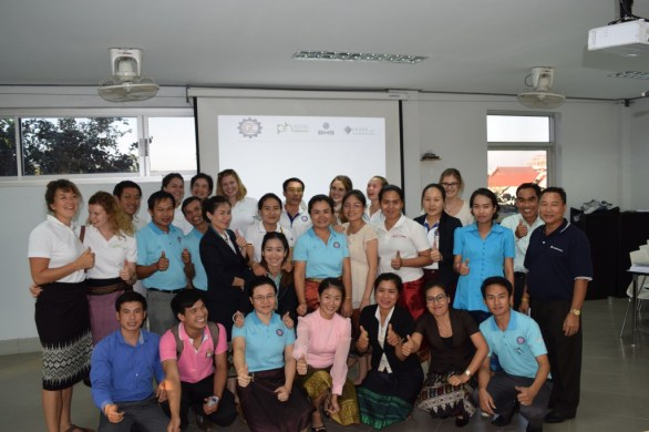 Participants of the first workshop on pronunciation at the LGTC