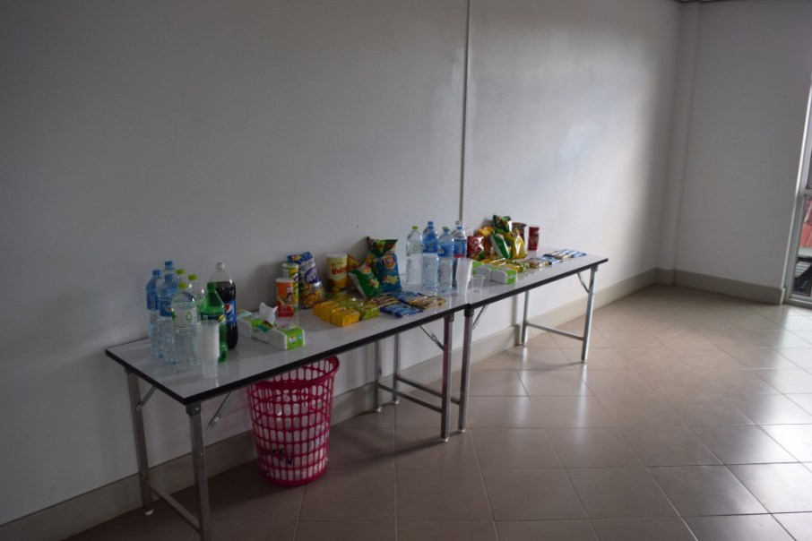Refreshments and snacks sponsored by BHS