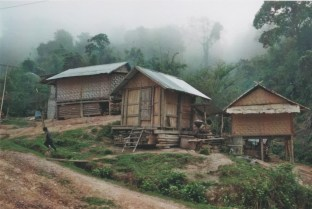 A Khmu village in Kasi district