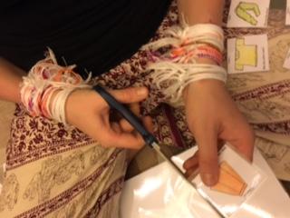 Anika's hands