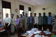The Minister's civil servant team in the AfC office