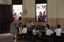 Mittaphone Sichampa teaches preschoolers to speak English
