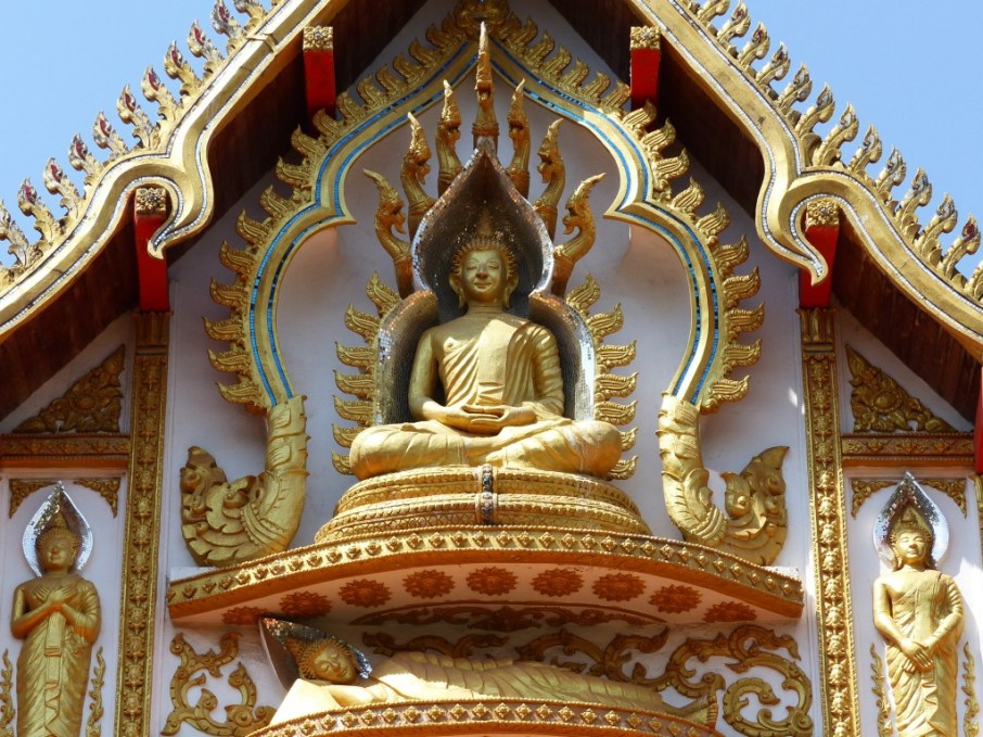 Wat That Phoun - one of the beautiful temples we visited on our first days